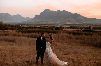 gaby and matthew's south-african wedding inspiration photo