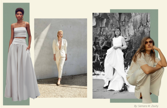 top 4 sustainable wedding dress designers for the eco-friendly bride inspiration photo