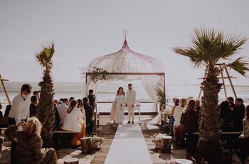 inside ana and jaime's romantic villa do conde wedding inspiration photo