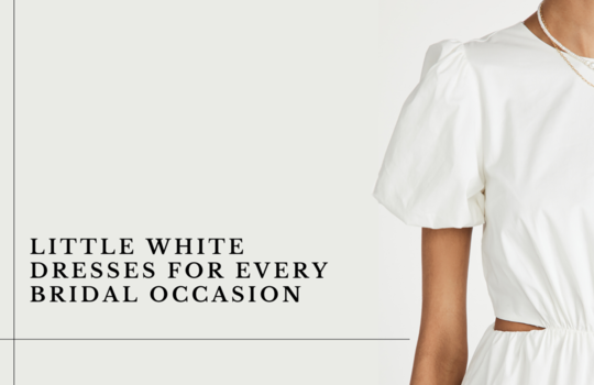 little white dresses for every bridal occasion inspiration photo
