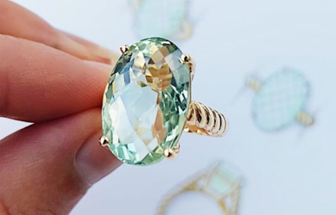 alternative engagement rings inspiration photo
