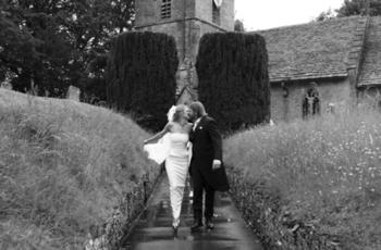 Thumb tag leaving the church