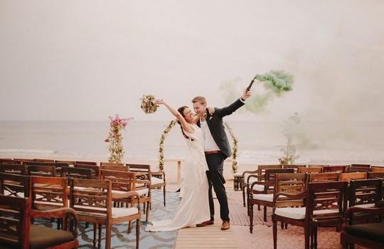 isabel and alistair's marbella beach wedding  inspiration photo 3
