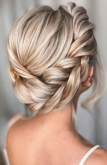 12 beautiful hairstyles for the modern bride   inspiration photo 11