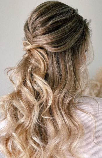 12 beautiful hairstyles for the modern bride   inspiration photo 8