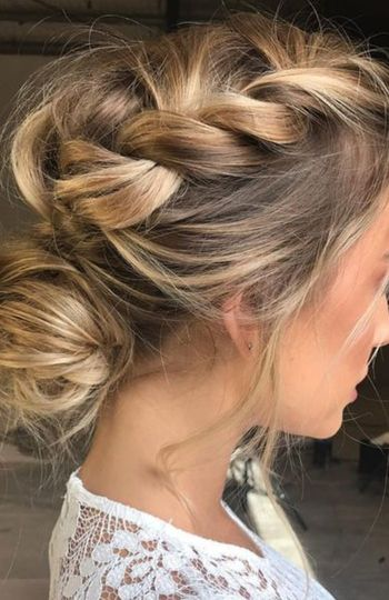12 beautiful hairstyles for the modern bride   inspiration photo 5