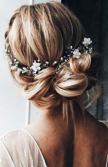 12 beautiful hairstyles for the modern bride   inspiration photo 3