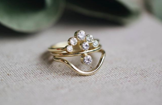 alternative engagement rings inspiration photo 11