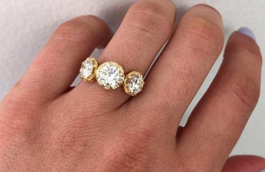 alternative engagement rings inspiration photo 10