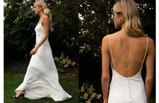 6 versatile slip wedding gowns for the minimalist bride inspiration photo 6