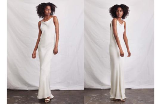 6 versatile slip wedding gowns for the minimalist bride inspiration photo 4