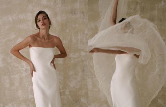 6 versatile slip wedding gowns for the minimalist bride inspiration photo 2