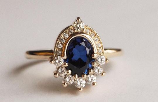alternative engagement rings inspiration photo 5