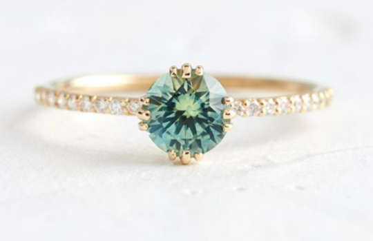 alternative engagement rings inspiration photo 2