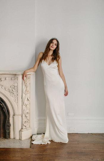 spotlight on slip gowns inspiration photo 9