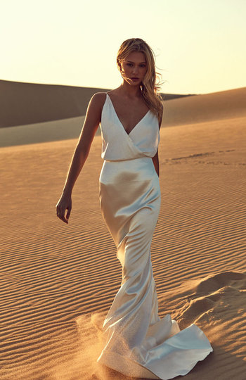 spotlight on slip gowns inspiration photo 6