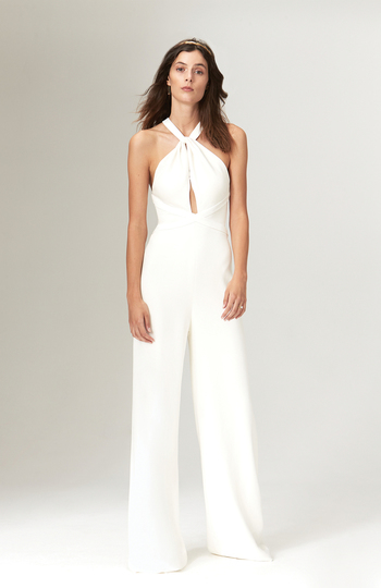 9 bridal jumpsuits we love right now inspiration photo 8