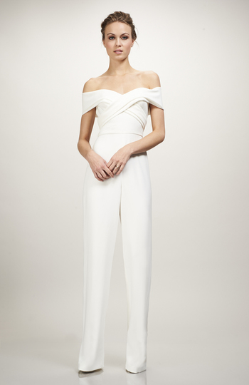 9 bridal jumpsuits we love right now inspiration photo 6