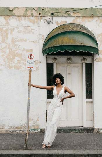 9 bridal jumpsuits we love right now inspiration photo 5
