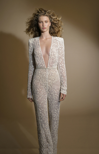 9 bridal jumpsuits we love right now inspiration photo 4