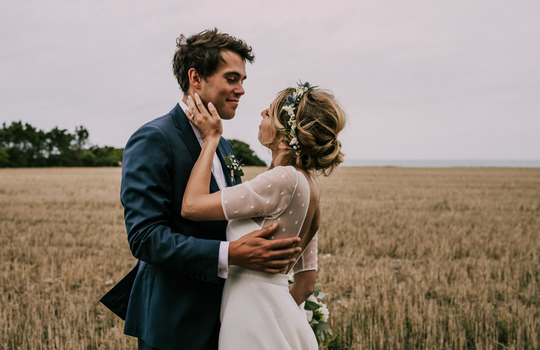 zoe and francois- xavier's wedding on the day of holy love  inspiration photo 4