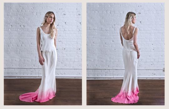 top 10  colourful bridal dress ideas inspiration photo 9