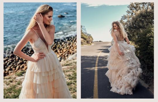 top 10  colourful bridal dress ideas inspiration photo 7