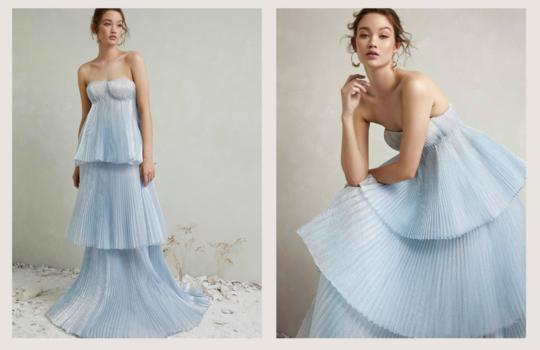 top 10  colourful bridal dress ideas inspiration photo 6