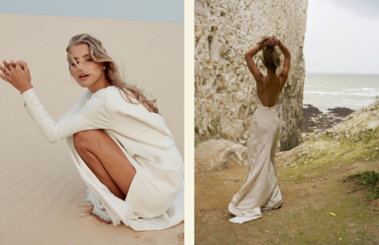 top 4 sustainable wedding dress designers for the eco-friendly bride inspiration photo 4