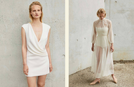 top 4 sustainable wedding dress designers for the eco-friendly bride inspiration photo 2