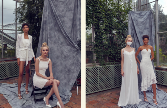 top 4 sustainable wedding dress designers for the eco-friendly bride inspiration photo 1