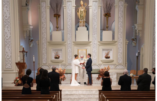 inside catherine and tommy's chicago wedding inspiration photo 10