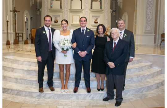 inside catherine and tommy's chicago wedding inspiration photo 7