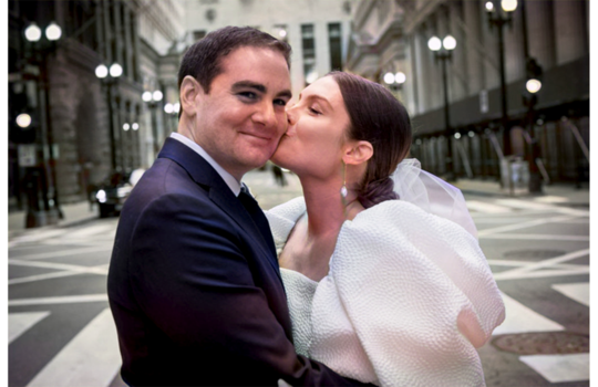 inside catherine and tommy's chicago wedding inspiration photo 3