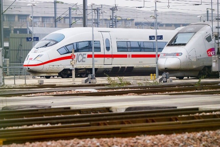 ice en tgv trein