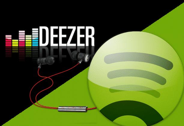 Deezer Spotify Minidisco