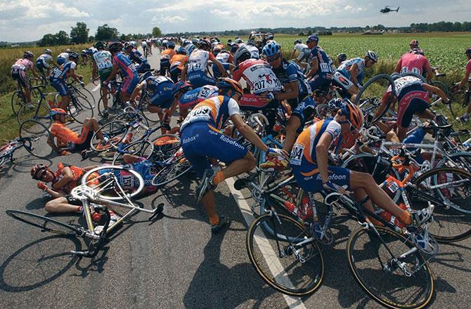 Valpartij Tour de France