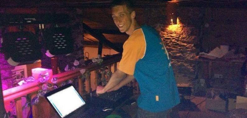 Kevin DJ camping