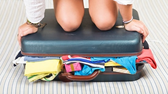 koffer inpakken stress