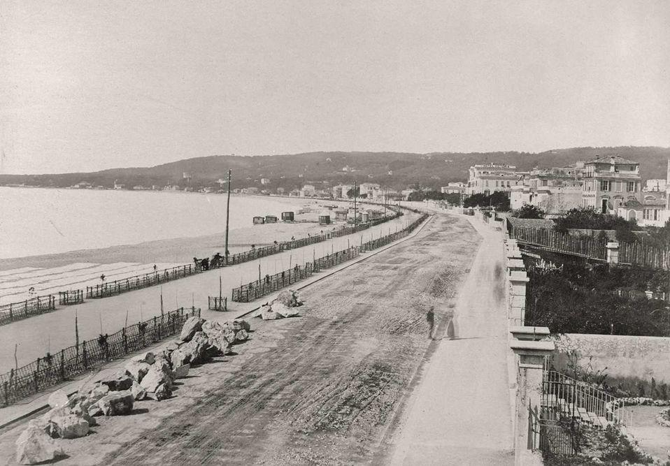 zwart wit foto frankrijk strand