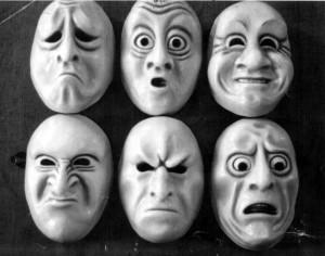 emotie maskers
