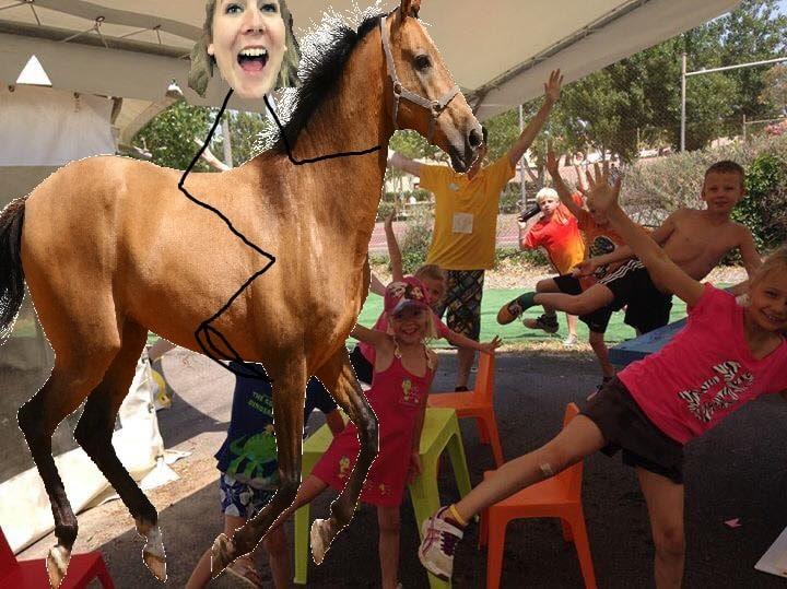 Photoshop paard