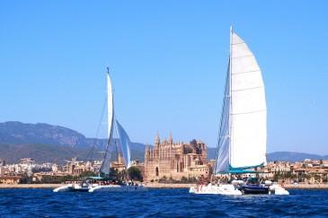 Katamaransegeln Mallorca