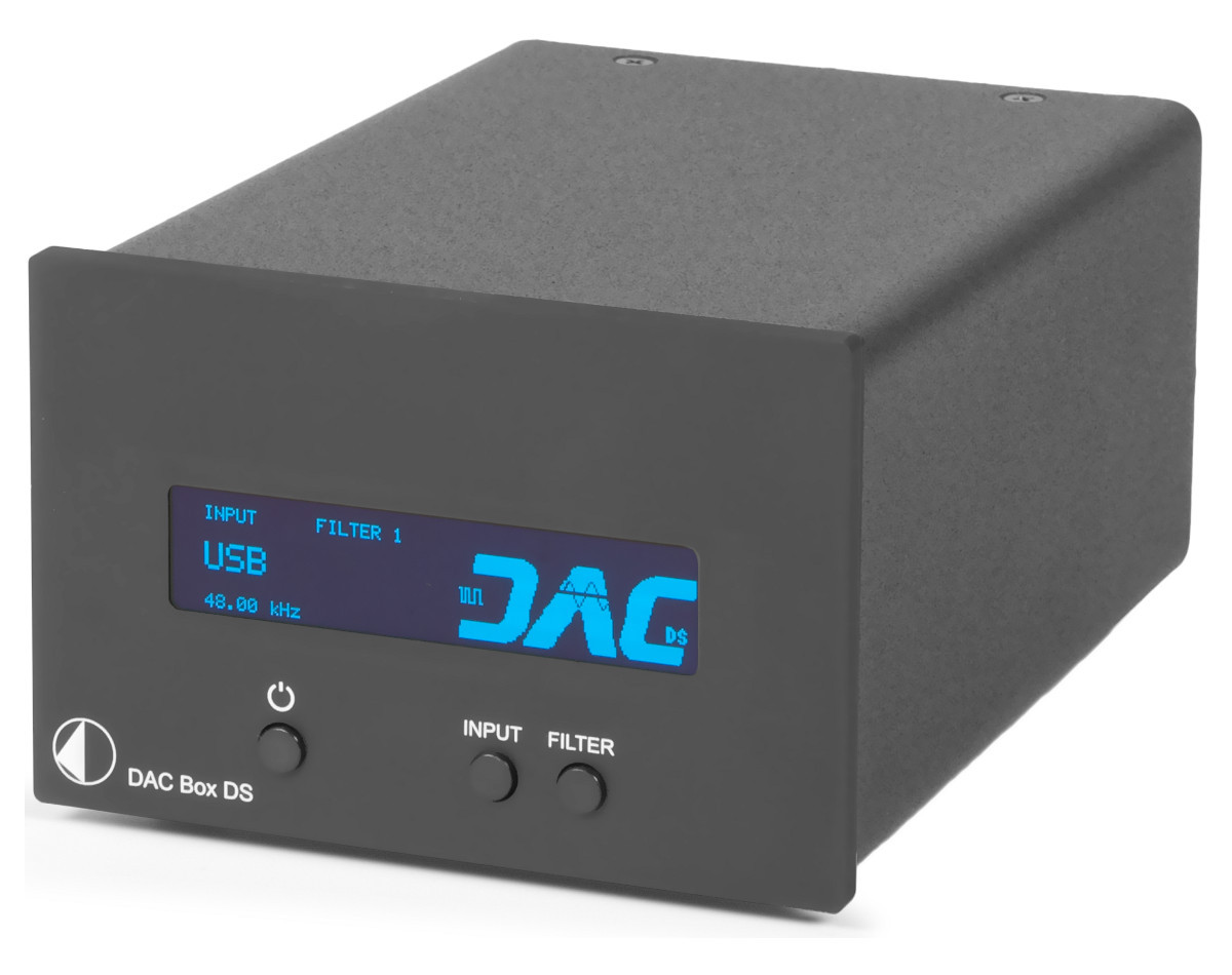 ProJect DAC Box DS Čierny