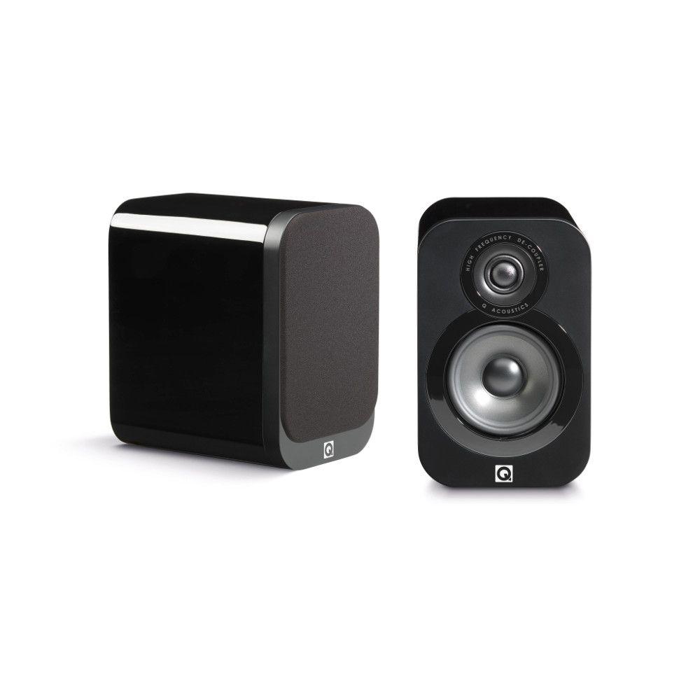 Q Acoustics 3010 Čierny lesklý lak