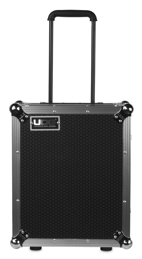 UDG Ultimate Flight Case Multi Format Turntable Silver Plus (Trolley & Wheels)