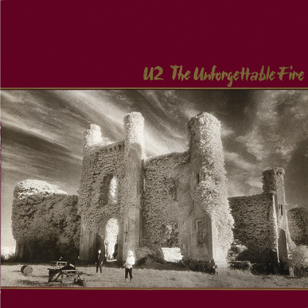 VINYL U2 • The Unforgettable Fire (LP)