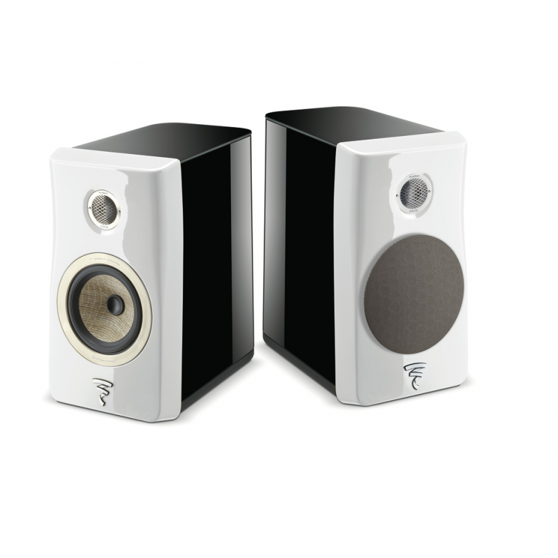 Focal Kanta N°1 black hg carrara white hg front