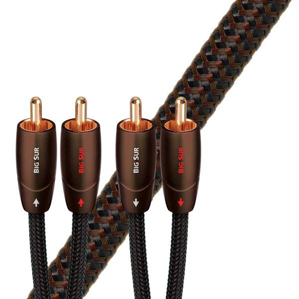Audioquest Big Sur (RR) kabel audio RCA - RCA  1m