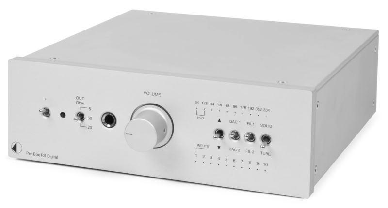 ProJect Pre Box RS silver digital